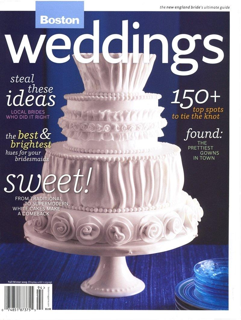Night Shift featured in Boston Weddings Magazine.