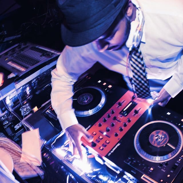 Top DJ performs for gala