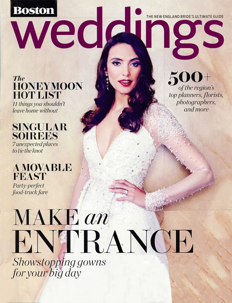 Night Shift featured in Boston Weddings!
