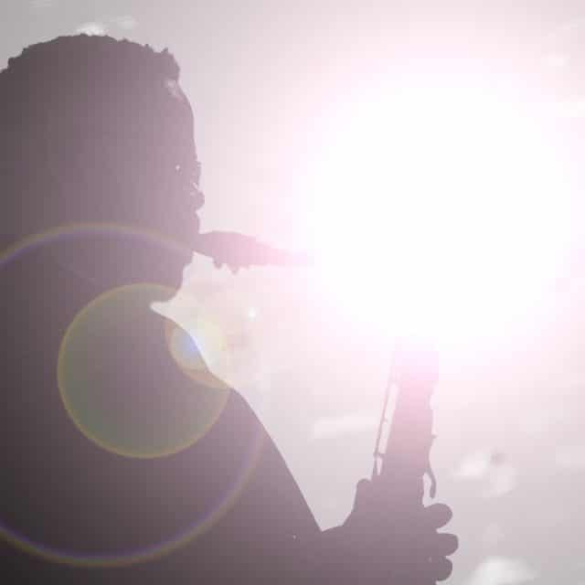 Soulful saxophone solo
