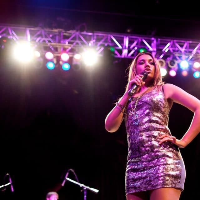 Patricia performs for elegant corporate event in Boston