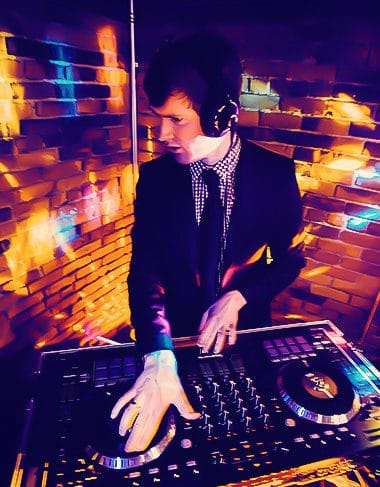 DJ Jacob Sound spins for Gala in Boston