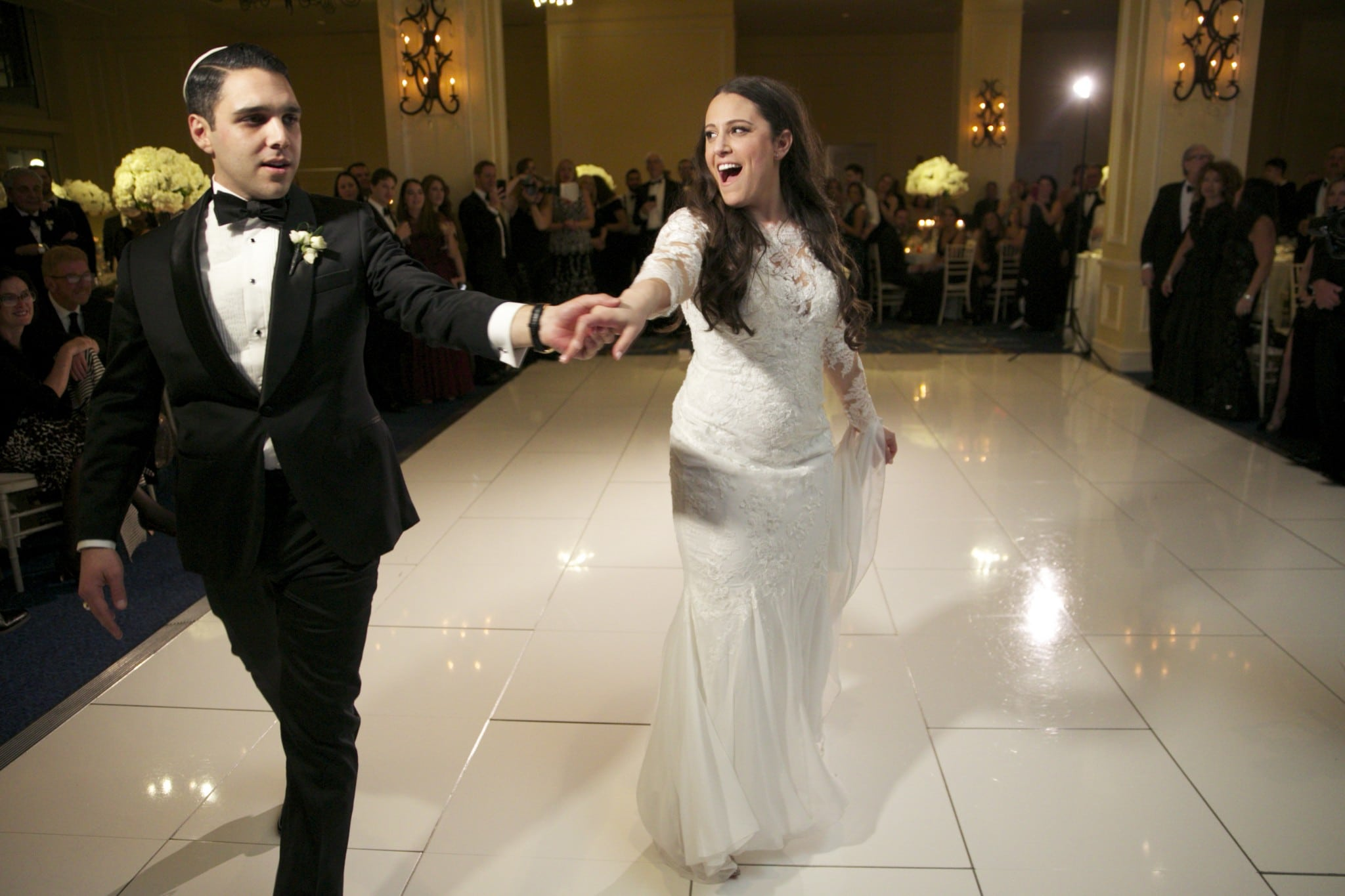 First dance with Fleetwood Mac and Night Shift